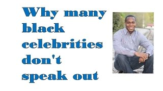 Why many black celebrities don