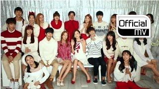 [MV] DSP FRIENDS(KARA, RAINBOW, OH JONG HYUK, A-JAX, DSP Girls_So Min & Chae Won) _ White