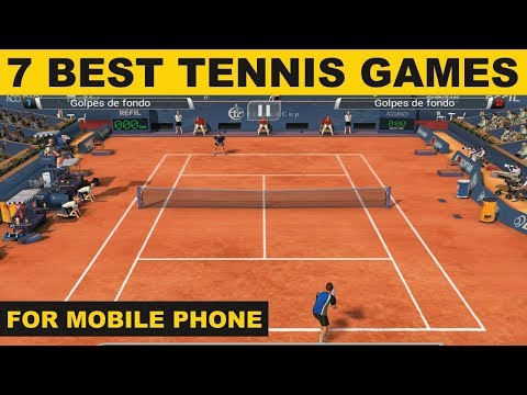 Top 7 Tennis Android Games For Tennis Lovers In Hindi | TUS