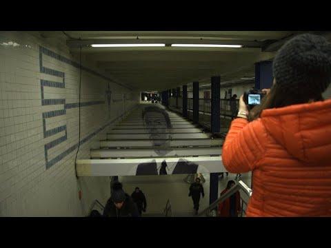 New York subway station brings back David Bowie