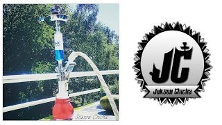 Test Chicha Nargilem Ultimate NPS Convex + Custom Pièce FUMAX