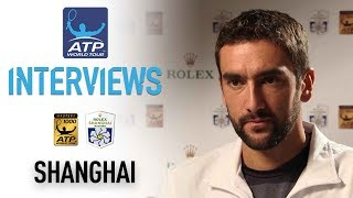 Cilic Reacts To Run To Shanghai 2017 Semi Finals