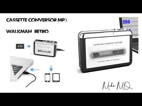 ¿Quieres convertir tus cassettes a formato digital?. WALKMAN Conversor a MP3.
