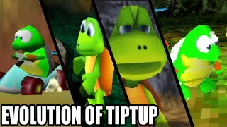 Evolution of Tiptup from Diddy Kong Racing