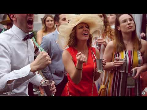 The Best Derby Day in NYC at Refinery Rooftop and Winnie's