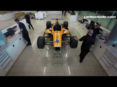 ¿Cómo se armó el McLaren de Alonso para Indy 500?