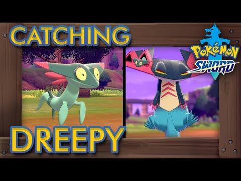 Pokémon Sword & Shield - How to Catch Dreepy (2% Rarity Pokémon)