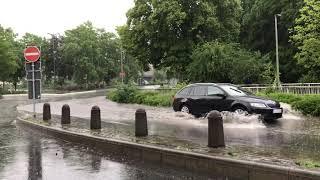 Unwetter in Betzdorf und Kirchen