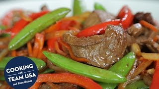 Meryl Davis and Charlie White's Buffalo Stir Fry