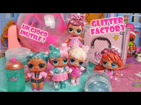 Modifichiamo le LOL Surprise con la GLITTER DIY FACTORY ✨ [Unboxing]
