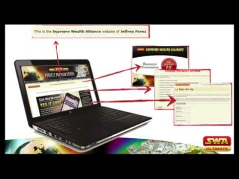 Supreme Wealth Alliance 100% Home Based Online Job
