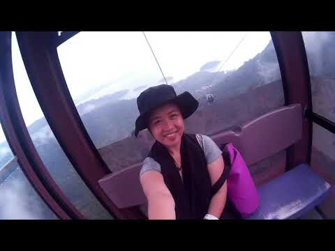 3: Riding a Cable Car in Langkawi, Malaysia