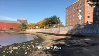 sony xperia xz vs iphone 7 plus camera video test 1080p max zoom