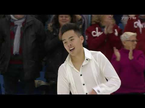 Nam NGUYEN Free Skate 2019 Canadian National Skating Champio