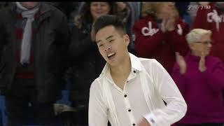 Nam NGUYEN Free Skate 2019 Canadian National Skating Championships