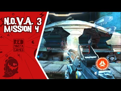 N.O.V.A 3: Freedom Edition [Mission 4: Seeds of Life] - Android Gameplay