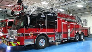 Taylor Fire Department, Velocity® PUC™ 105' Heavy Duty Ladder