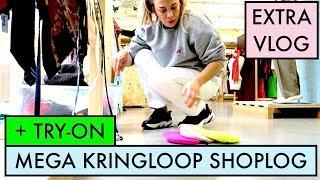 KRINGLOOP SHOPLOG IN DIEMEN + TRY-ON THUIS