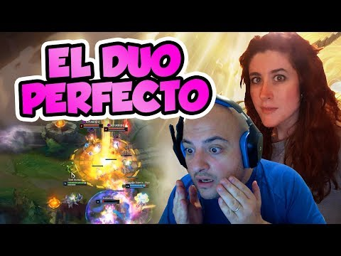 ¡EL DUO PERFECTO EN LEAGUE OF LEGENDS! CON HELANYA thumbnail