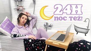 Spędziłam 24h w ŁAZIENCE | Sylwia Lipka