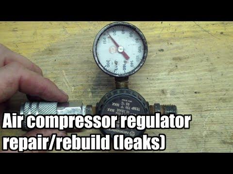 how-to-repair-or-rebuild-air-compressor-regulator-(leaks)-(anti-throw-away-society)