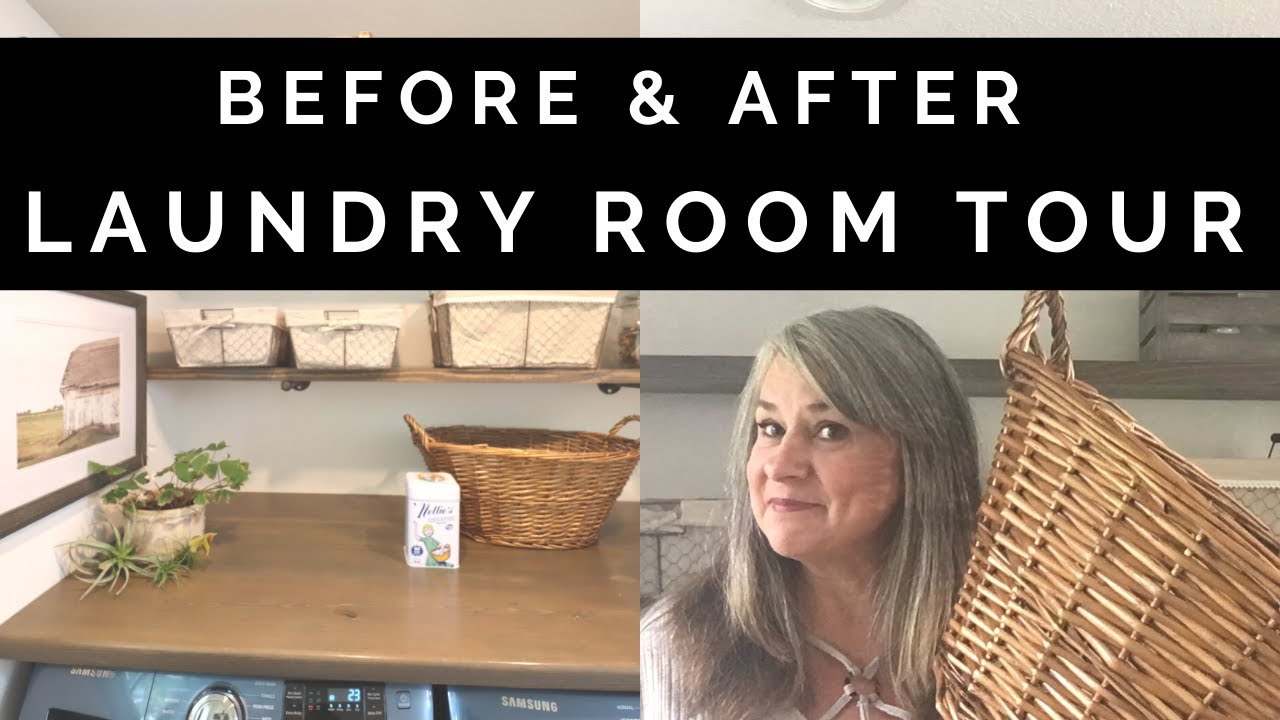Home Improvement: DIY Laundry Room Makeover
