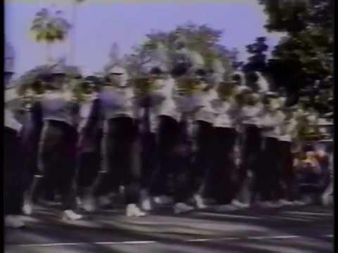 1993 Clovis High School Marching Band  Trek to Tinseltown