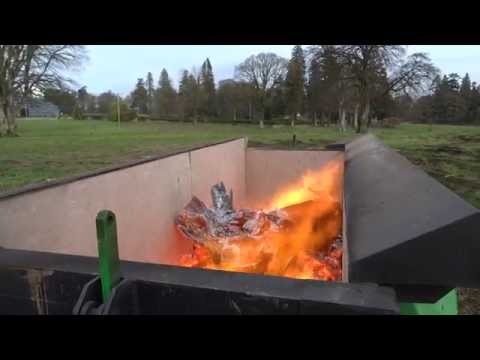 Burnboss Mobile Trailer Air Burner / Airburner