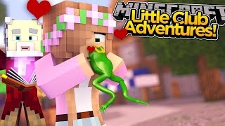 Minecraft Little Club Adventures   Little Kelly KISSES Her Prince w/ Alfie