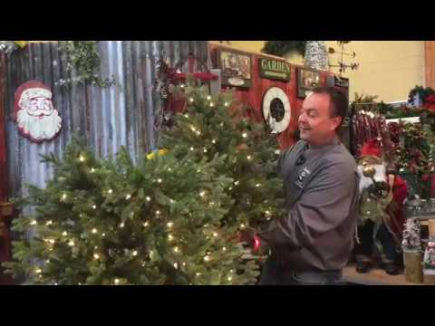 Professionally shape your artificial christmas tree youtube for Pandy s garden center