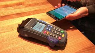 "Solution for bridging ""brick and mortar"" stores mobile payment services. no applications required. customer simply dials taps the phone on the..."