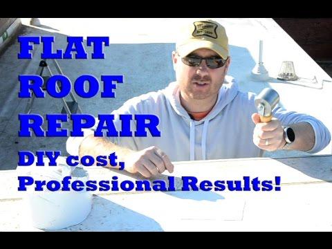 Roof Leak Repair | Flat Roof Repair | DIY