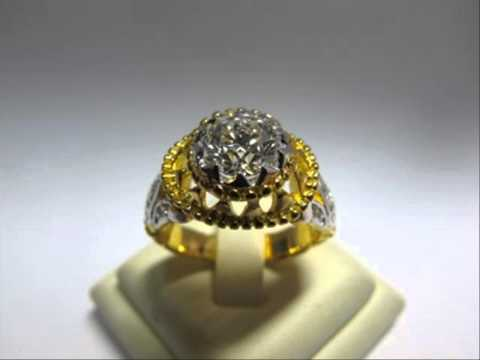 ลายแหวนทอง 1 สลึง แหวนแต่งงานคู่ราคาถูก