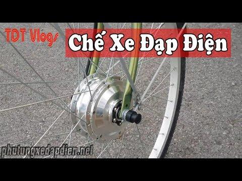 Thiết bị tự chế xe đạp điện - Cung cấp bộ KIT Chế xe LH: 0977311266   Electric Bike Conversion Kit