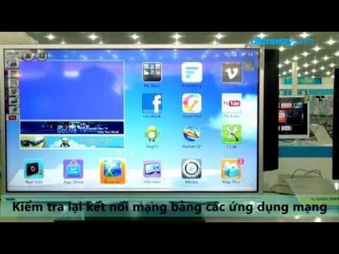 Kết nối mạng với Tivi TCL