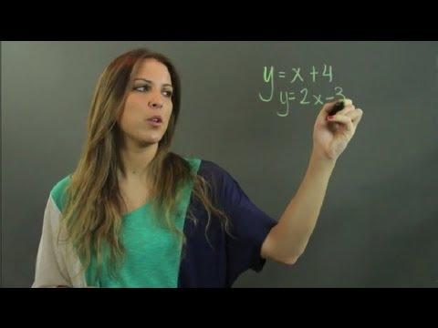 Algebra 1 Substitution Method : Linear Algebra Education