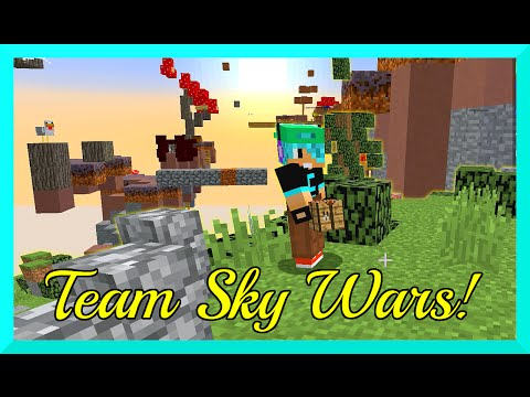 Minecraft Team Sky Wars Gameplay Gamer Chad Minepl