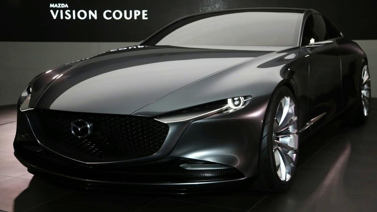 amazing car   mazda vision coupe concept a este auto se parecer u00e1 el mazda 6 2020