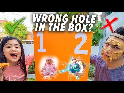 DARES IN THE MYSTERY BOX CHALLENGE!? | Ranz and Niana