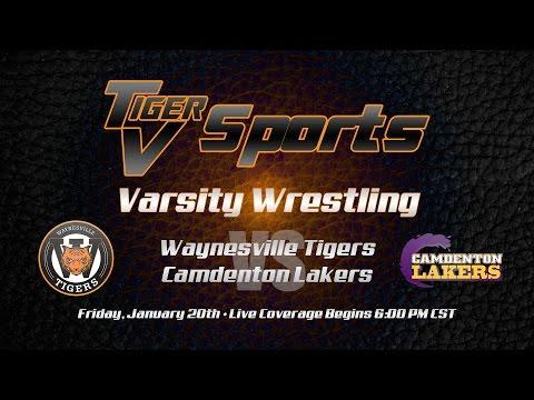 Waynesville vs Camdenton Varsity Wrestling