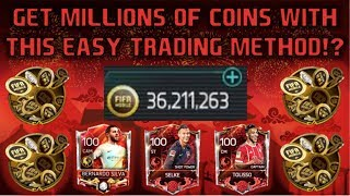 MAKE MILLIONS OF COINS?!?!?! Fifa Mobile Trading Method / Coin Making Method
