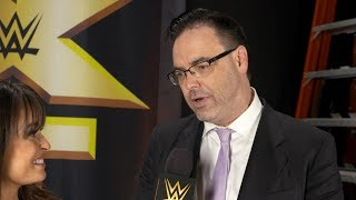 Mauro Ranallo reacts to joining NXT: Exclusive, June 26, 2017