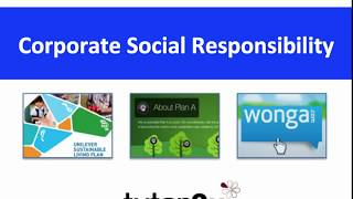 BUSS4 Section B: Corporate Social Responsibility (CSR)
