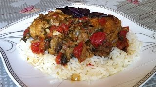 Чахохбили из Курицы/Грузинская Кухня/Chakhokhbili/Простой Пошаговый Рецепт
