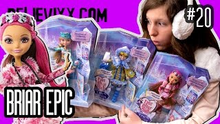ФАНАТЫ В ШОКЕ! новые куклы Эвер Афтер Хай Briar Beauty Epic Winter обзор на кукол Эвер Афтер Хай