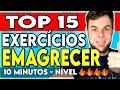 Exercícios para Emagrecer em Casa. TOP 15 EXERCÍCIOS PARA EMAGRECER