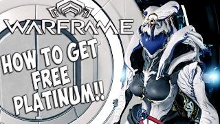 Warframe Free Platinum - WORKING Platinum Generator 2017 - Free Colors and Weapon Skins