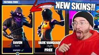 "NEW ""RAVEN"" SKIN STARTER PACK JUST RELEASED GAMEPLAY! !! FORTNITE BATTLE ROYALE WITH TEAM ALBOE!!"