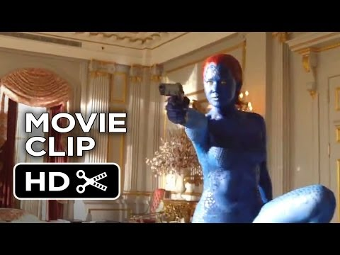 X-Men: Days of Future Past Movie CLIP - Boardroom (2014) - Jennifer Lawrence Movie HD