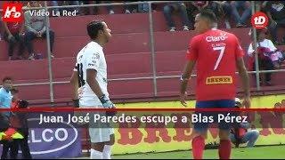 Juan José Paredes escupe a Blas Pérez l Prensa Libre